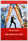 For Your Eyes Only Movie Poster Print - 1981 - Action - 1 Sheet Artwork Bond 007 £15.02 GBP
