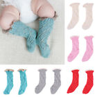 1-3Y Toddler Baby Girls Cotton Blend Breathable Knee High Long Warm Casual Socks