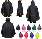 ADULT STADIUM / EVENT RAIN PONCHO, SELF PACKABLE, HOOD, SNAP PLACKET, OSFA, FANS