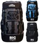 Extra Large 120 L Travel Backpack Rucksack Hiking Camping Festival Luggage