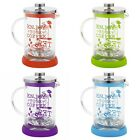 800ml Glass French Press Reusable Filter Kitchen Coffee Maker Cafetiere Plunger
