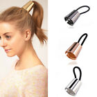 Yoocart Metal Alloy Hair Cuff Stretch Ponytail Elastic Rope Hairband Tie Ring