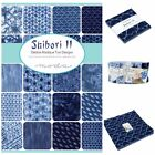 MODA Shibori ll 100 % cotton, charm pack jelly roll layer cake for sewing