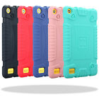 Hybrid Rugged Rubber Soft Shockproof Case Cover For Amazon Kindle Fire 7 7th Gen
