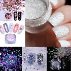 Glitter Nails Sequins Flakes V-Shaped Nail Art 3D Decoration Manicure DIY Tool