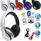 Foldable Wireless Bluetooth 4.2 HIFI Super STEREO Headphone Headset Call MIC