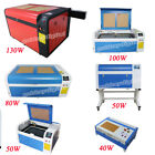 High Precise 50W/80W100W/130W Co2 Laser Engraving Machine Cutter Rotary Axis
