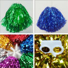 Party Costume Sports Metallic Cheerleader Party Favors Flower Ball Pom Poms