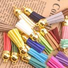 Mixed Acrylic Gold Cap Top Tassels Terylene Velvet Pendant for jewerly