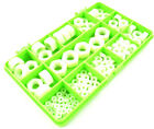 137 ASSORTED PIECE NYLON FULL NUTS PLASTIC DOME NUT R/C MODEL BUILDING KIT