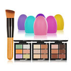 6Colors Concealer Makeup Brush Girl Anti-Acne Egg Scourer Cosmetic Tool Hot Cool