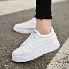 Women's Breathable Sneakers Lace Up Casual Sport Running Loafers Athletic Shoes