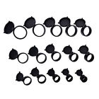 25.5~62mm Flip Up Lens Cover Caps Rifle Scope Telescopic Sights  Available Black