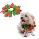 Puppy Dog Cat Chritmas Accessories Red&Green Neckhole Clothing Costume Apparel