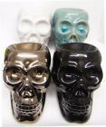 Oil Burner Skull Gothic Halloween Ceramic Decorative Ornament