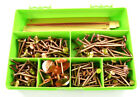 225 ASSORTED COPPER CLOUT NAILS / TREE STUMP KILLERS + COPPER STRIPS RIVETS KIT