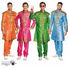Mens Sergeant Peppers Suit 1960s 60s Pop The Beatles Fancy Dress Costume Outfit