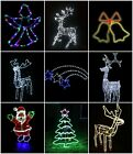 Large In / Outdoor Christmas Garden Rope Light Xmas Lights Decoration Silhouette