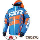 2018 FXR Boost X Snowmobile Jacket 180029 Blue/Orange/White XL Snocross