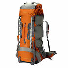 60 L + 10 L Outdoor Sport Camping Travel Waterproof Backpack Climbing Hiking Bag