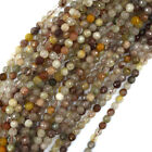 "Faceted Multicolor Rutilated Quartz Round Beads 15.5"" 4mm 6mm 8mm 10mm 12mm"
