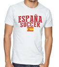 Espana Team Soccer T-shirt Adults Men's Soccer Jersey 100% cotton Any Sports image