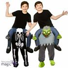 Childs Carry Me Piggy Back Novelty Ride On Mascot Fancy Dress Costume Halloween