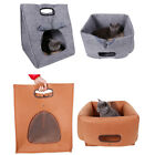 Pet Supply Dog Cat Bed House Portable Folding Puppy Warm Soft Kennel Indoor Tent