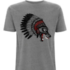 Wolf T-Shirt by HEROLUX  - Tattoo, Biker, Retro, Tribal, Rock N Roll, Distressed