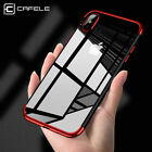 Fashionable Hybrid 360° Shockproof Plating Case Cover for Apple iPhone X