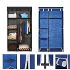 "69"" Portable Closet Storage Organizer Wardrobe Clothes Rack with 5 Shelves F5X5"