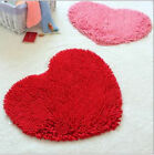 Love Heart Fluffy Mat Area Rug Soft Fake Faux Fur Home Bedroom Carpet Footcloth