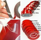 CLEAR & GREY ~ 3M Acrylic DOUBLE SIDED TAPE ~ Automotive, Vehicle, Car, Mounting