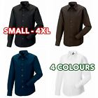 Mens Boys Long sleeve Tencel® fitted shirt formal casual lot