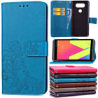 For LG G Stylo / LS770 / LS775 Card Holder Shockproof Rubber Rugged Cover Case
