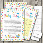 Baby Bingo! Baby Shower Games Bingo ~ Boy / Girl / Unisex (20 Player) (G25)