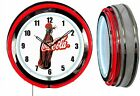 "Coca Cola 1930's Bottle Coke 19"" Double Neon Clock Choice of Red or Green Neon $159.49  on eBay"