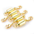 5X MAGNETIC CLASPS VERY STRONG SILVER & GOLD PLATED Jewelry Necklace Finding