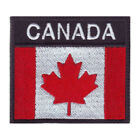 CANADA FLAG BADGE EMBROIDERED PATCH