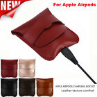 Headphone Portable Leather Case Protective Cover Bag Pouch For Apple Airpods