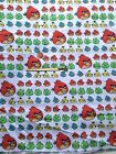 Angry Birds Kids Inspired Poly/Cotton Fabric FQ 50cm L x 47cm W FreeP&P