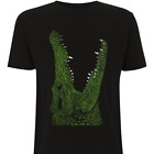 Croc T-Shirt by HEROLUX - Tattoo, Retro, Eco, Rock N Roll, Crocodile, Alligator