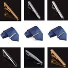 3/4/5/6pcs Set Stainless Steel Exquisite Tie Bar Clip Simple Pin 2.3