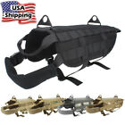 Military MOLLE Dog Harness Police K9 Tactical German Shepherd Vest M L XL
