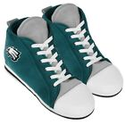 Philadelphia Eagles High Top Sneaker SLIPPERS New - FREE U.S.A. SHIPPING