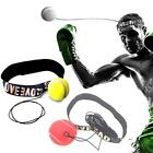 NEW Boxing Punch Exercise Fight Ball With Head Band For Reflex Speed Training US
