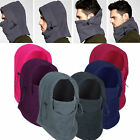 Warm fleece thermal neck balaclava hood police swat wind stopper face mask qe