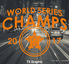 Houston Astros 2017  World Series Champs Decal Champions on Ebay
