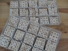 Wooden Scrabble Individual Tile Letters Alphabet Craft Wholesale FREE UK POSTAGE