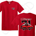 Dodge Charger 1971 Adult's T-shirt Front and Back printed Tee for Men - 1543F $16.77 USD on eBay